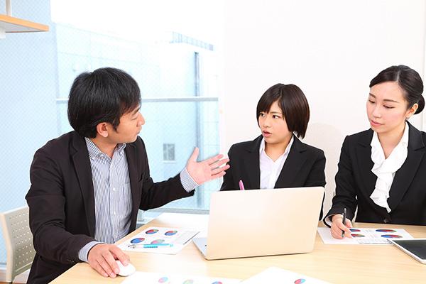 技術指導や運営管理にものイメージ